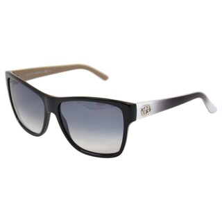 Gucci Women's 'GG 3579/S 0L4E' Black/Grey Sunglasses