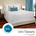 Select Luxury Gel Memory Foam 14-inch Medium Firm King-size Mattress Set with EZ Fit Foundation