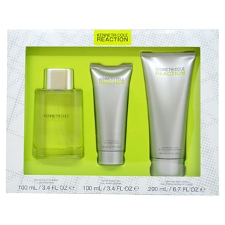 Kenneth Cole 'Reaction' Men's 3-piece Fragrance Gift Set