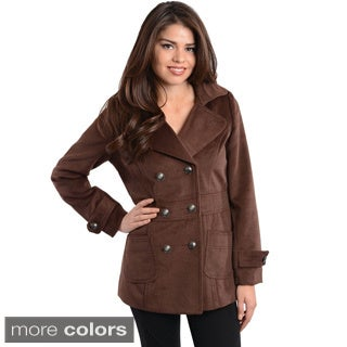 Stanzino Women's Double Breasted Coat