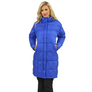 The North Face Women's Vibrant Blue Metropolis Parka