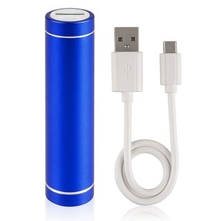 BasAcc Blue Lip Stick Design USB Power Bank with CableBlue