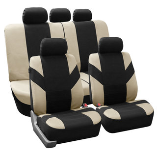 FH Group Beige 'Road Master' Car Seat Covers (Full Set)