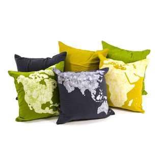 Handmade World Cushion Covers (set of 3) - Pillow Not Included (India)
