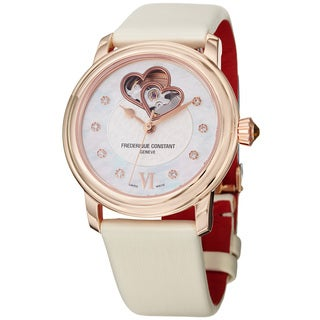 Frederique Constant Women's 'Ladies Automatic' Double Heart Beat Watch