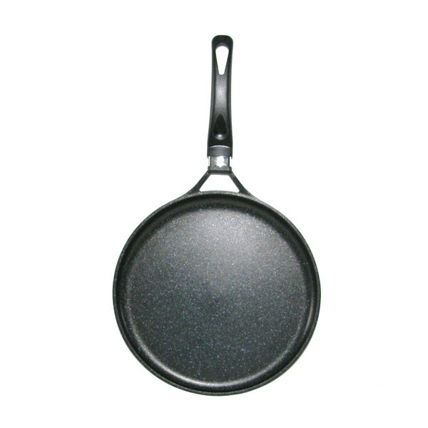 Mega Cook 12-inch XL Round Non-stick Stone Marble Comal/ Griddle Pan