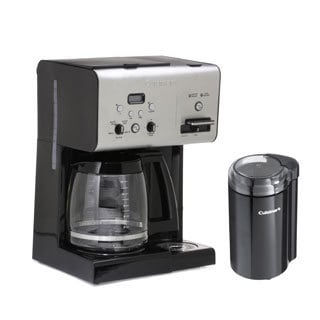 Cuisinart CHW-12 12-cup Programmable Coffeemaker with Bonus Coffee Grinder