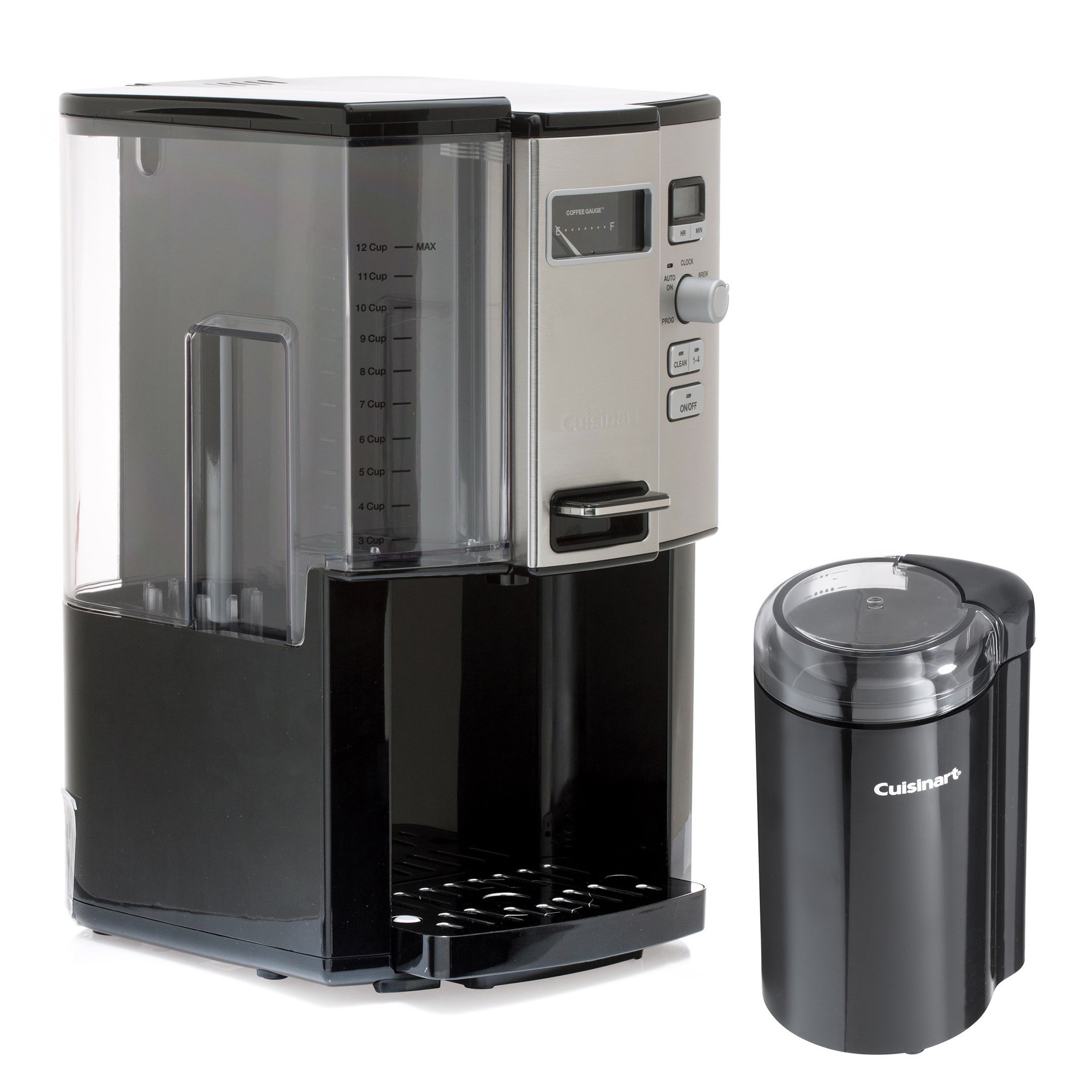Cuisinart DCC-3000 12-cup Coffee on Demand Programmable Coffee Maker with Bonus Coffee Grinder ...