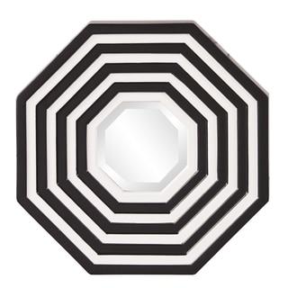 Target Black/ White Octagonal Mirror