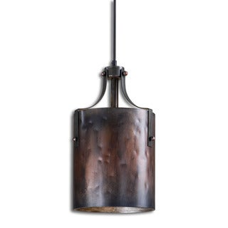 Akron 1-light Washed Copper Mini Pendant