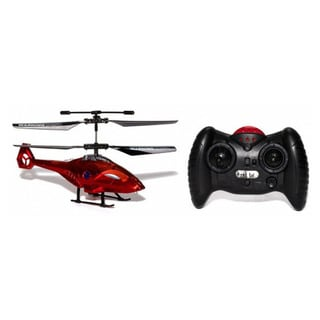 Apollo Futuristic Red Micro 2CH IR RC Helicopter