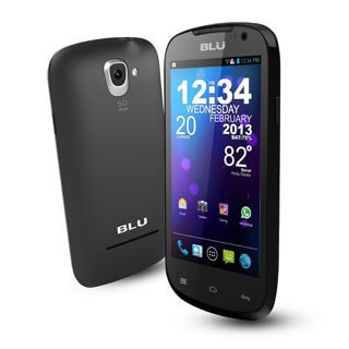BLU Dash 4.0 Unlocked GSM Dual-SIM Cell Phone (Refurbished)