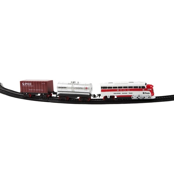 Electric Luxury Lights & Sounds Train Set