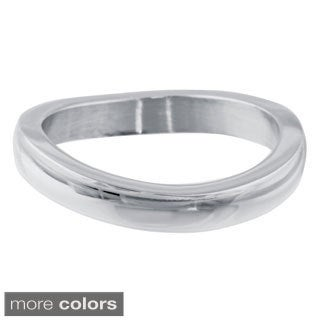 2mm Stackable Ring in Stainless Steel