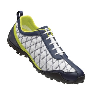FootJoy Summer Series Ladies White/Navy/Green Golf Shoes