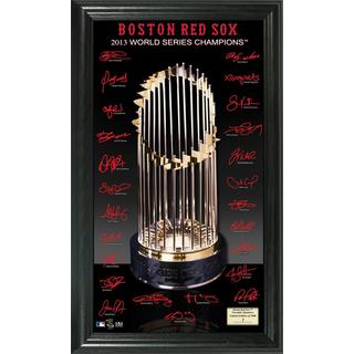 Boston Red Sox 2013 World Series Champions Trophy Signature Photo