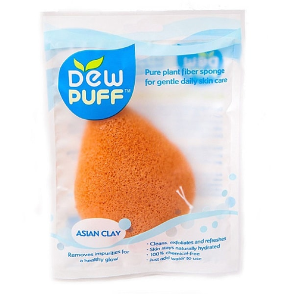 Dew Puff Konjac Sponge Asian Clay