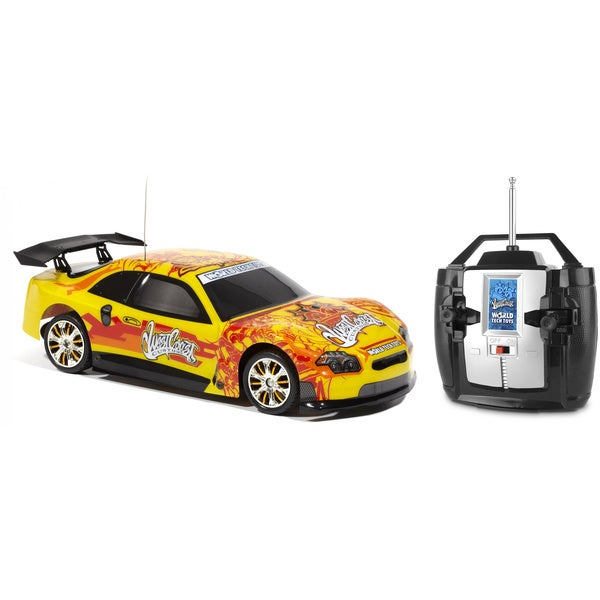 West Coast Customs Licensed Yellow Extreme Ryders RC Car