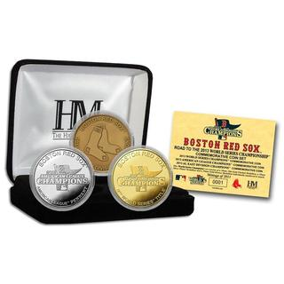 Boston Red Sox 2013 World Series Commemorative Coin Set