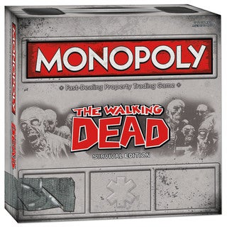 USAopoly Monopoly: Walking Dead Comic Edition