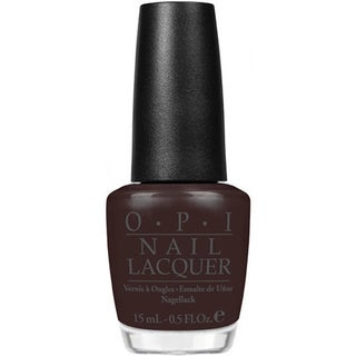 OPI 'Suzi Loves Cowboys' Dark Brown Nail Lacquer