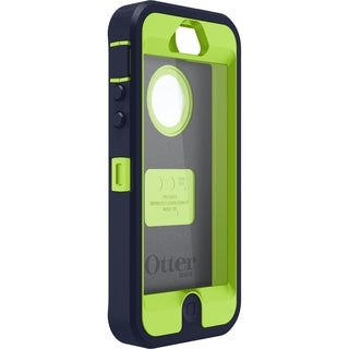 OtterBox Carrying Case (Holster) for iPhone - Glow Green/Admiral Blue
