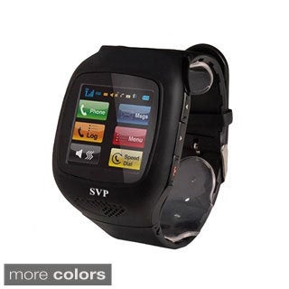 SVP G14 Unlocked Sliver Camera GSM Quad-band Watch Phone