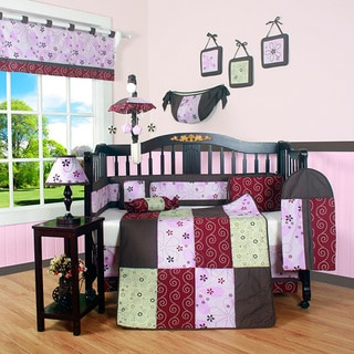 Boutique Love of Circle 13-piece Crib Bedding Set