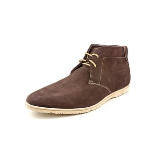 Men's Rockport Empire West Chukka Boot Bitter Chocolate Suede