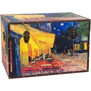 Van Gogh's 'Cafe Terrace' Trunk