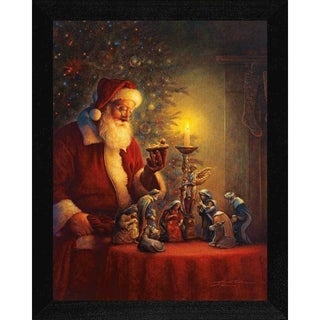 Greg Olsen 'Spirit of Christmas' Framed Wall Art