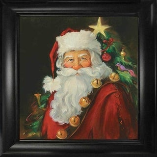 Sue Cornish 'Santa Portrait' Framed Wall Art