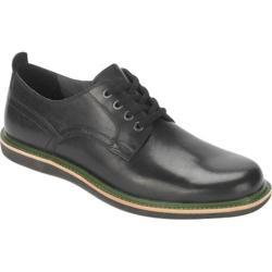 Men's Rockport Eastern Parkway Plain Toe Low Black Leather