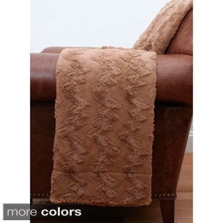 Alixx Faux Fur Throw
