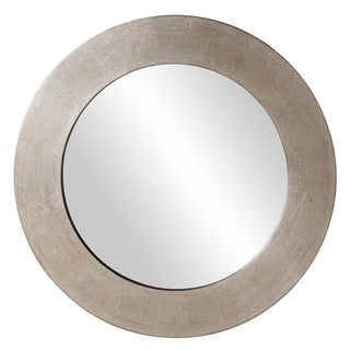 Hedge Silver Round Mirror