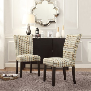 INSPIRE Q Catherine Diamond Impressions Parsons Dining Chair (Set of 2)