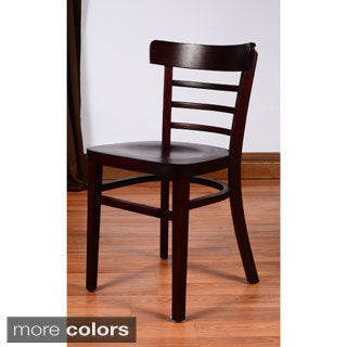 Economy Wooden Side Chairs (Set of 2)