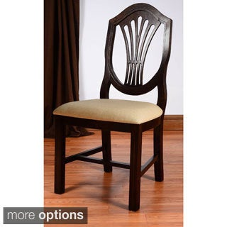 Shield Back Beech Wood Dining Chair