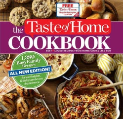 The Taste of Home Cookbook: 1,380 Busy Family Recipes (Loose-leaf)