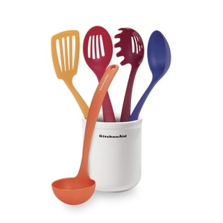 KitchenAid Ceramic Crock and Tool Set