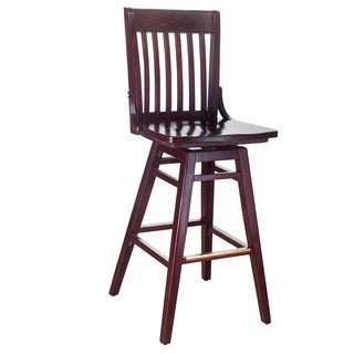 Cambridge Oak Extra Tall Swivel Barstool 15065536