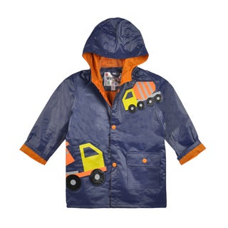 Wippette Boys Construction Zone Rain Jacket