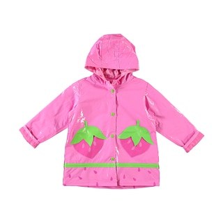Wippette Girls Rainberries Rain Jacket