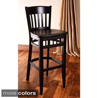 'Westbury' Black and Leatherette Barstool