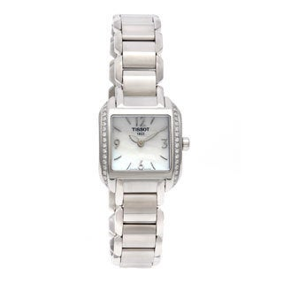 Tissot Women's 'T-Wave' Diamond Dress Watch