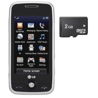 LG Prime Unlocked GSM Phone with 2GB Memory Card