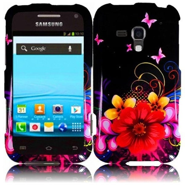 INSTEN Delusional Flower Phone Case Cover for Samsung Rush M830