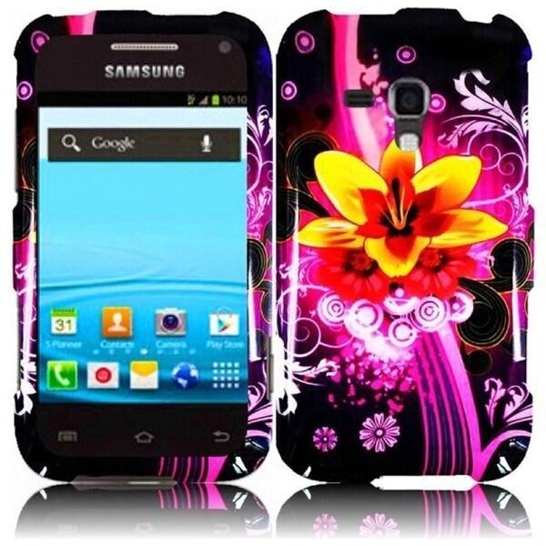 INSTEN Dream Flower Phone Case Cover for Samsung Rush M830