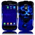 BasAcc Blue Skull Case for Samsung Galaxy S Lightray 4G R940
