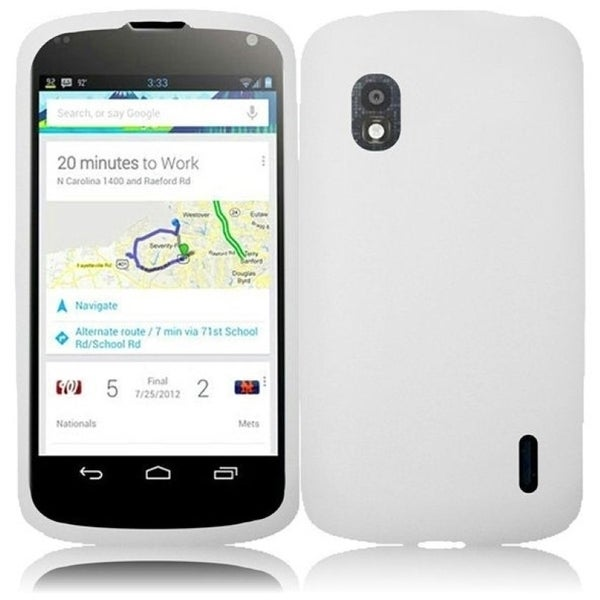BasAcc White Case for LG Nexus 4 E960T